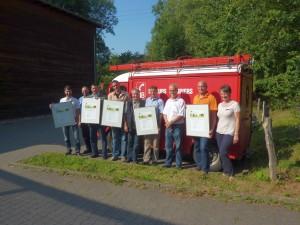 Auszeichnung der NaturparkPartner in der Biologischen Station im Kreis Wesel