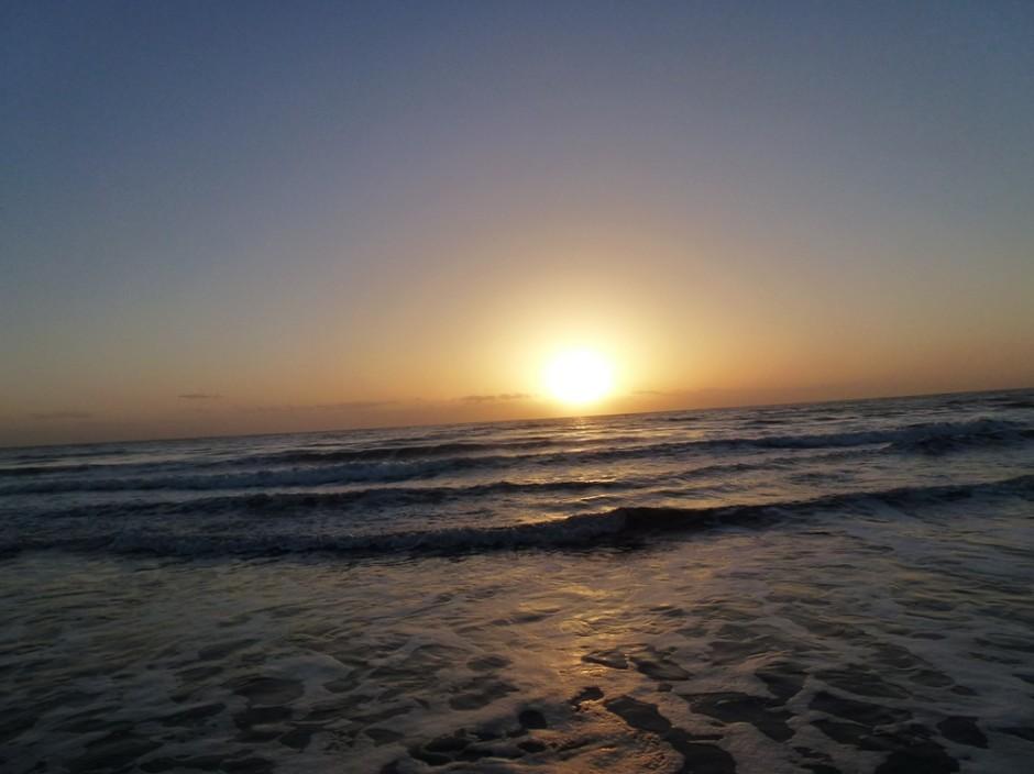 Sonnenaufgang 01 940x704 Romantische Lichterführung am Dattelner Meer