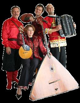 Foto Wolga-Virtuosen Quartett