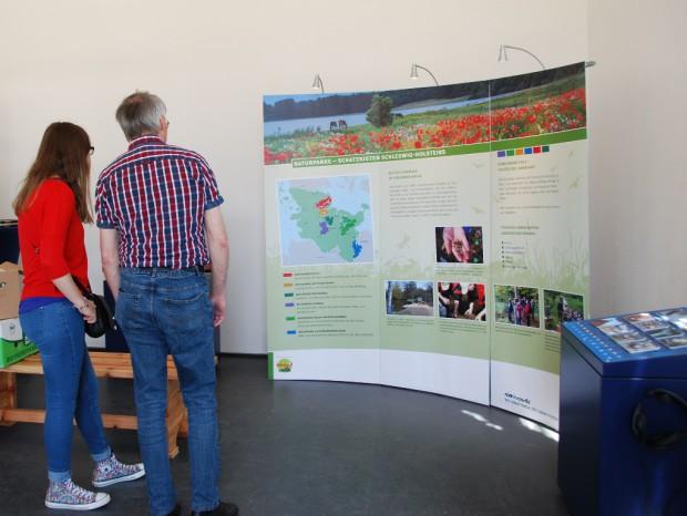 Ausstellung Naturparke Schatzkisten Schleswig Holsteins Foto T. Daubitz 620x466 Naturparke   Schatzkisten Schleswig Holsteins