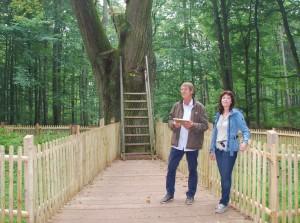 Christian Schroeder und Stephanie Ladwig 300x223 Erfolgreiche Veranstaltungsreihe mit Naturpark Botschaftern