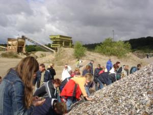 Fossilien sammeln in der Holsteinischen Schweiz