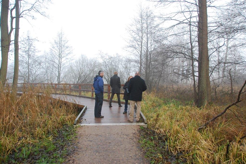 Eutin Kuhbergsredder Wegaufstaenderung Naturpark auf dem Prüfstand...