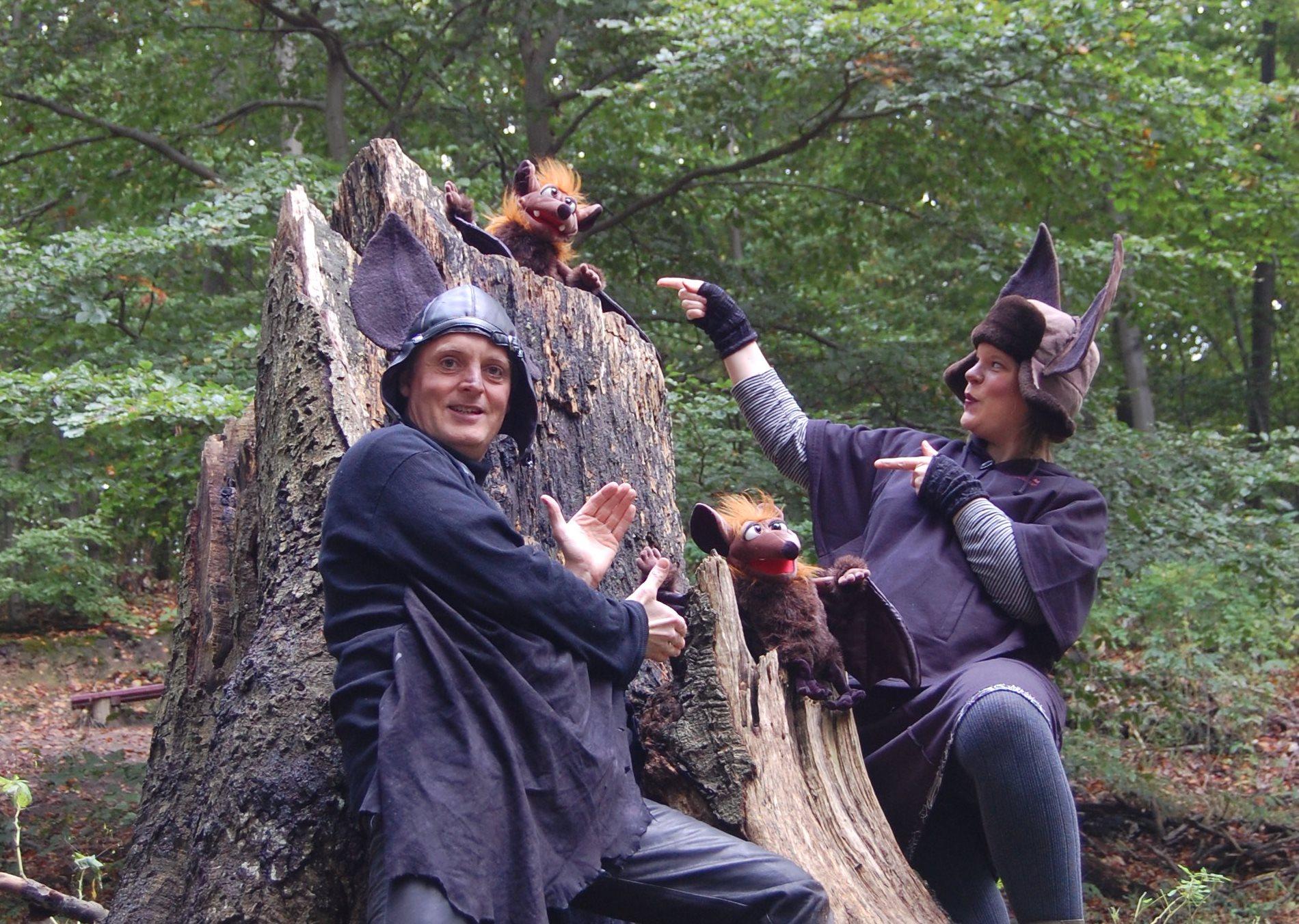 Foto Flattertom Flederlilly Aus der Reihe Nachtgeflüster: Rund um das Thema Fledermäuse!