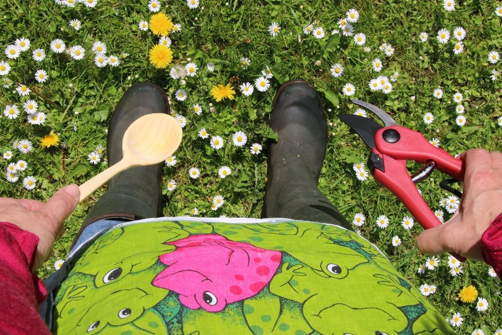 Foto Sonja Fuhrmann1 Garten.Querbeet: In Gummistiefeln zum Essen