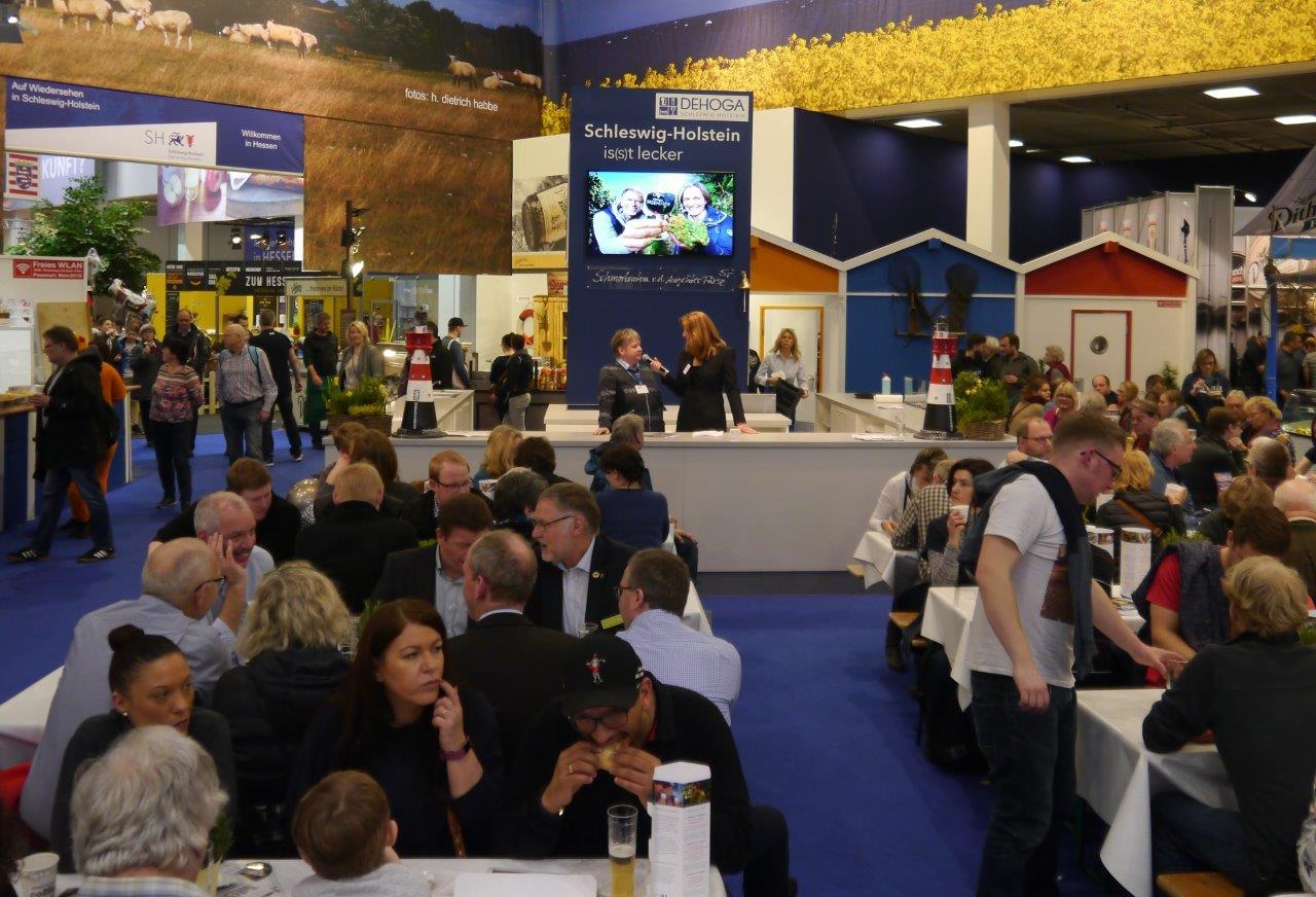 Interview Gr Woche b Holsteinische Schweiz wieder groß in Berlin auf der IGW 2018