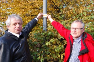 P. Cramer und P. Knoke 300x200 Wanderwegeprojekt – Detailplaner sind unterwegs