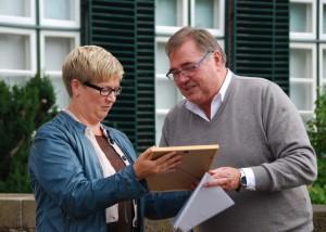 Regina Poersch und Klaus Dieter Schulz 300x214 Erfolgreiche Veranstaltungsreihe mit Naturpark Botschaftern