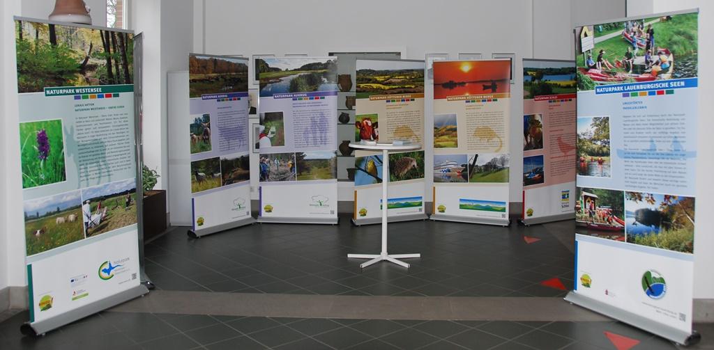 Schatzkistenausstellung Naturparke Ausstellung jetzt in Bad Segeberg