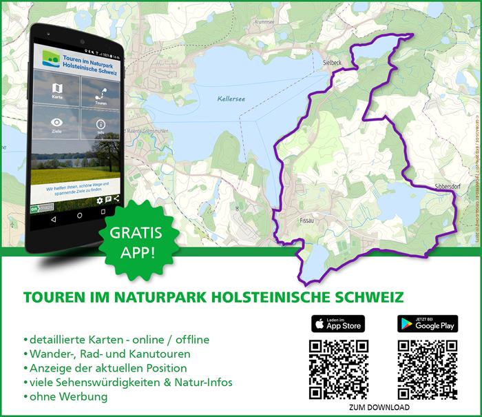 Touren App Holsteinische Schweiz Weg erhält Trekking Award