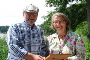 Urkundenverleihung in Krummsee2 300x200 Lieblingsorte der Naturpark Botschafter erfreuen sich regen Interesses
