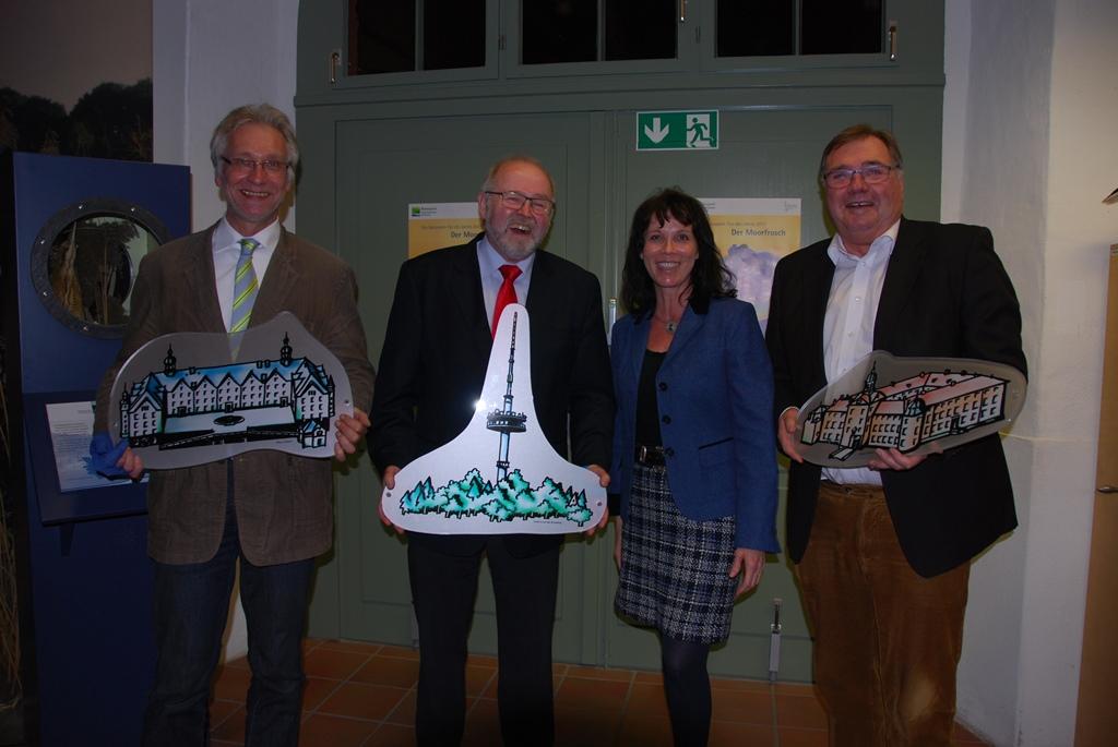 Verabschiedung Vorstand Wechsel im Vorstand des Naturparks Holsteinische Schweiz