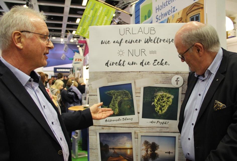 vHollen Minister Grote Holsteinische Schweiz mit neuem Angebot auf der IGW
