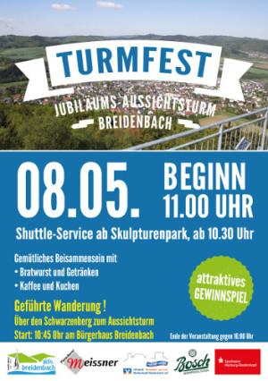 C Breidenbach Flyer Turmfest 2016 300x426 TURMFEST in Breidenbach