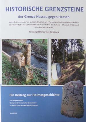 C Daum Dokumentation Historische Grenzsteine 300x427 Historische Grenzsteine der Grenze Nassau gegen Hessen