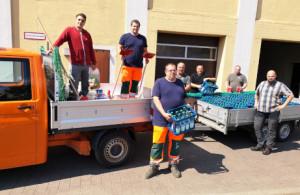 C Haiger Fluthelfer 300x195 Haigerer helfen im Katastrophengebiet