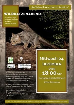 Einladung Wildkatzenabend 300x424 Wildkatzenabend
