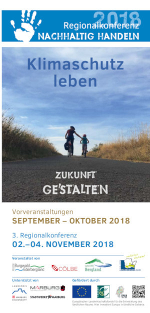 Programm Flyer ReKo 2018 300x626 3. REGIONALKONFERENZ Nachhaltig Handeln   Klimaschutz leben!