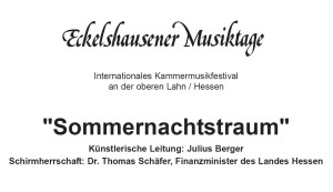 """Programm Sommernachtstraum Eckelshausener Musiktage 2018 300x173 31. Eckelshausener Musiktage laden ein zu einem """"Sommernachtstraum"""""""