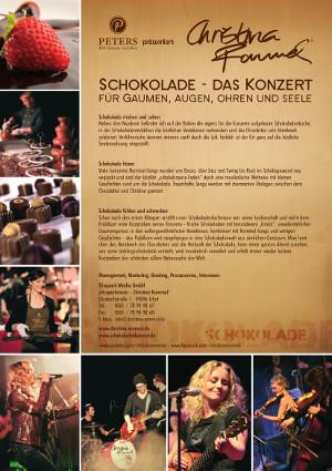 c 2014 Schokolade das Konzert Info Schokolade   das Konzert für Gaumen, Augen, Ohren und Seele