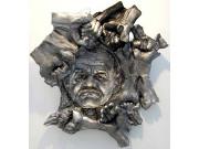 (c) Biedenkopf, AlfredHrdlicka, 2008, Negativ-Positivrelief, Aluminium_k