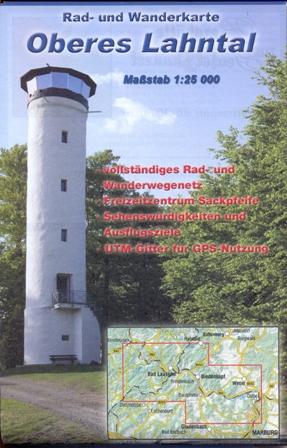 c Biedenkopf Karte Oberes Lahntal Neue Rad  und Wanderkarte