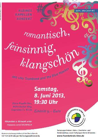 c Förderkreis Sinnn Kleines Kapellenkonzert Sinn veranstaltet Kammerkonzert und Open Air