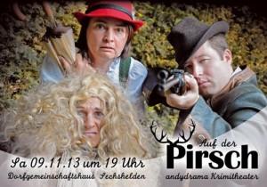 c Haiger Auf der Pirsch1 300x210 Theaterzeit in Haiger