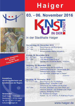c Haiger Kunst in der Stadt 2016 Kunst in der Stadt   Haiger