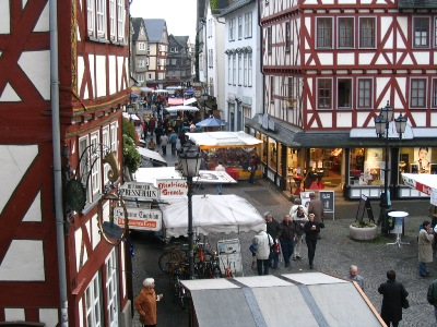 c Herborn Markt Martinimarkt in Herborn