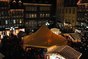 c Herborn Vorweihnacht Marktplatz 300x201 Herborn in der Vorweihnachtszeit – der Weihnachtsmarktplatz
