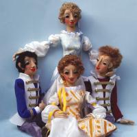 (c) Katharina Zürcher Cosi fan tutte - Marionetten von Annemarie Gottfried