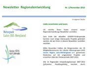 (c) LDB Newsletter Regionalentwicklung
