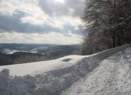 (c) Lahn-Dill-Bergland - Winter Hohe Straße - Erich Müller