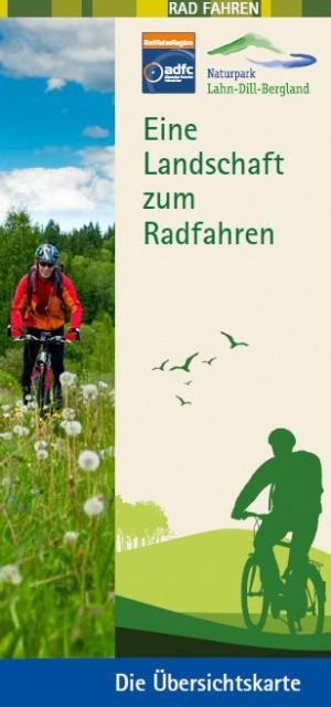 c Lahn Dill Bergland Radkarte Titel 300x640 Radbroschüre und neue Internetseite informieren über ADFC RadReiseRegion