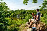 (c) Lahntal Tourismus-Wandern 2011-036-Blick auf König Konrad Felsen_k