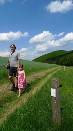 c Naturpark LDB Postraubrute Wanderung des Monats August   Geschichte der Posträuber wandernd entdecken