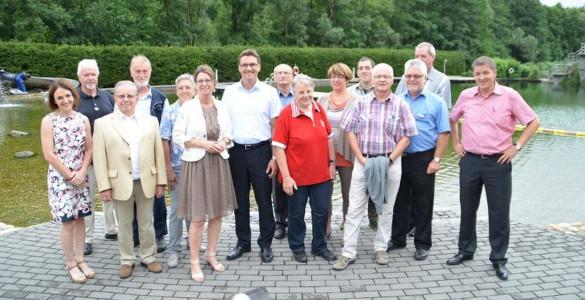 c Naturpark Lahn Dill Bergland Besuch Priska Hinz2 Hessische Umweltministerin besucht Naturpark