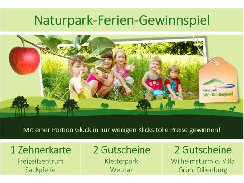 c Naturpark Lahn Dill Bergland Feriengewinnspiel Naturpark Ferien Gewinnspiel