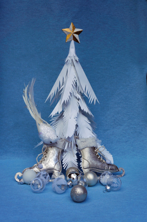 c Schartenhof Silberbaum Schneeballkinder versilbern und vergolden Winter und Weihnachtsausstellung im Schartenhof