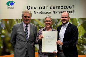 c VDN Auszeichnung Lahn Dill Bergland 2018 300x200 Qualitätsarbeit! Naturpark Lahn Dill Bergland erhält Auszeichnung