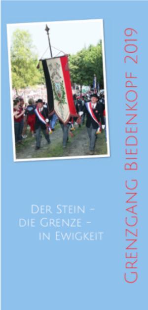 c grenzgang biedenkopf Titel flyer 300x629 15. 17. August   Grenzgang Biedenkopf 2019