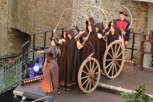 cBiedenkopf Postraub Premiere Kutsche 300x200 Musical DER POSTRAUB kehrt zurück nach Biedenkopf