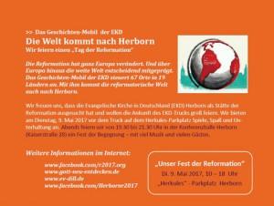 cDie Welt kommt nach Herborn 300x226 Fest der Reformation   die Welt kommt nach Herborn