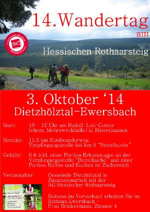 cDietzhölztal Rootharsteigwanderung 14. Wandertag am Hessischen Rothaarsteig