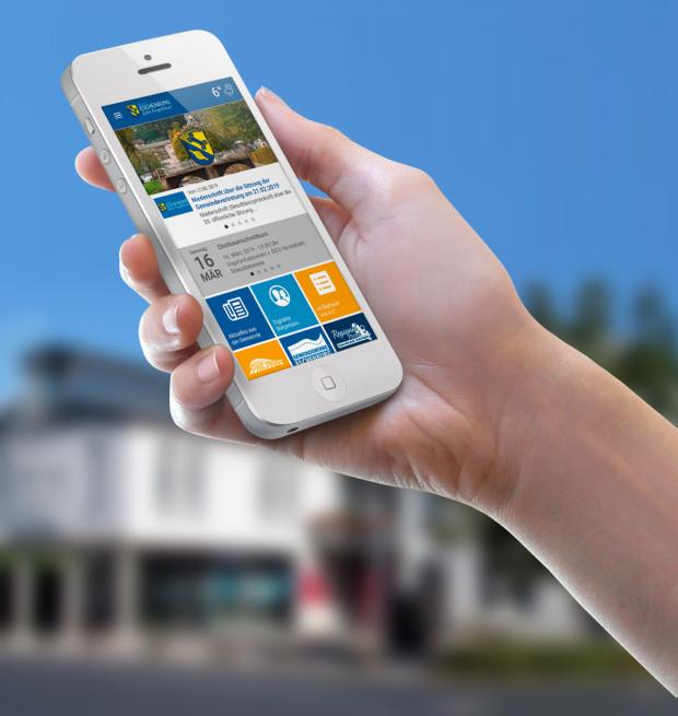 cEschenburg App1 620x655 Gemeinde Eschenburg startet App mit Regional Portal