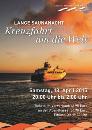 """cLDB Therme Saunanacht 300x424 Lange Saunanacht – """"Kreuzfahrt um die Welt"""""""