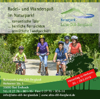 cLahn Dill Bergland Rad Wanderspaß Q Naturpark Lahn Dill Bergland auf dem Hessentag 2016 in Herborn