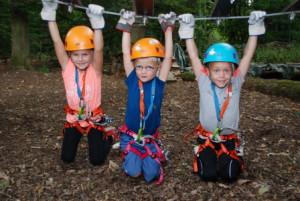 c Kletterwald Wetzlar Bambini Parkours1 300x201 Endlich fertig !! Die Bambini Parcours: