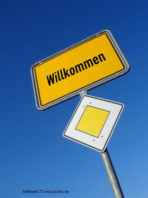 """clichtkunst.73 www.pixelio.de Willkommen 300x400 """"Willkommen!"""" am 14. Juli in Eschenburg"""